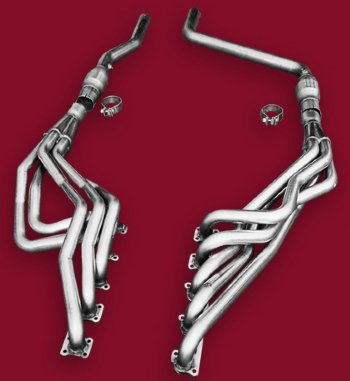 American Racing Headers with Mids, 04-06 Ram SRT-10